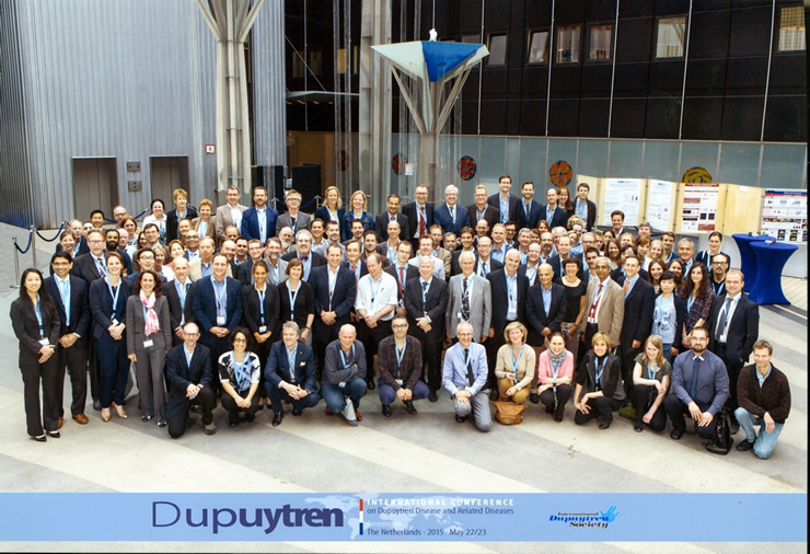 participants of the Groningen cobnference on Dupuytren diseas 2015